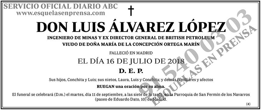 Luis Álvarez López